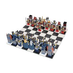 Шахматы Лего Викинги