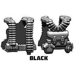 Разгрузка американского пулеметчика черная