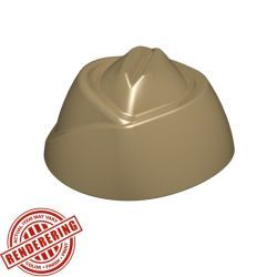Garrison Cap (Dark Tan)