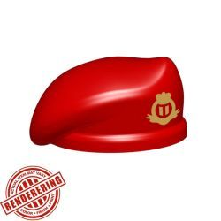 Beret - Red (British Special Forces print)