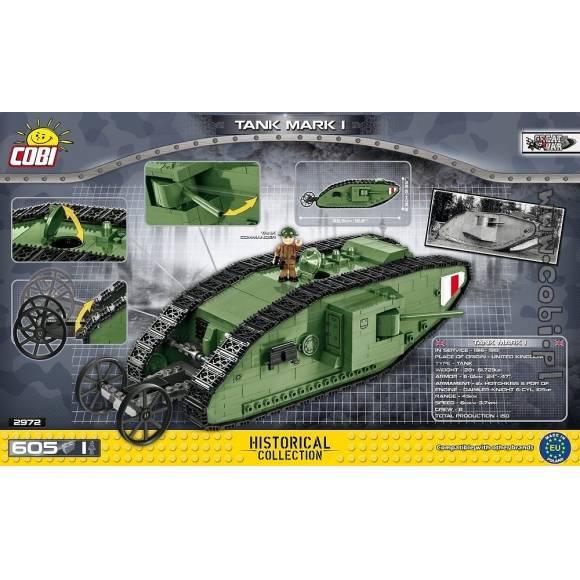 2972 Британский тяжелый танк Марк 1