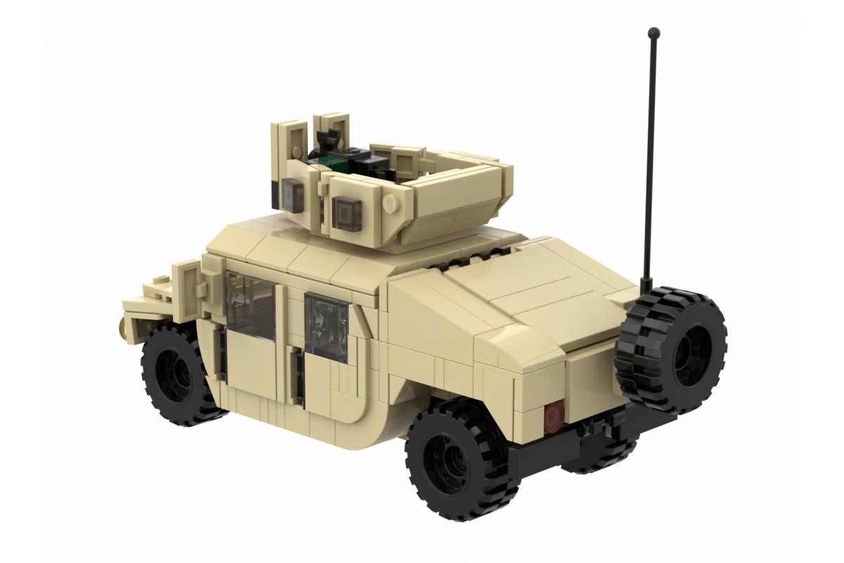 Armorbrick Humvee Us Modern Military Vehicle Custom Building Kits Nevabrick Ru European Reseller Of Custom Lego Kits Of Brickmania Armorbrick Battlebrick Brickarms