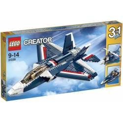 31039 Синий реактивный самолет