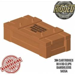 Crate 384 Cartriges Reddish Brown