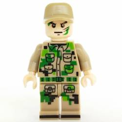 Chinese soldier pixel camo (Brickpanda)