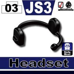 Гарнитура JS3 черная
