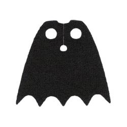 Cape Cloth, Scalloped 5 Points Black