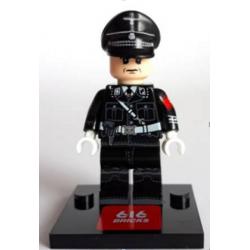 WWII German Officer Black (Brickpanda)