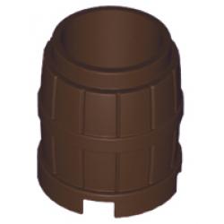 Dark brown container Barrel
