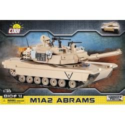 "2619 Американский танк M1A2 ""Абрамс"""