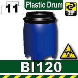 Бочка синяя BI120