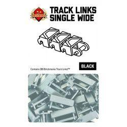 Brickmania Track Links - Single Wide Black