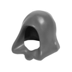 Dark Bluish Gray Minifigure, Headgear Hood