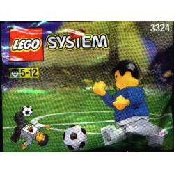3324 KAUFHOF PROMOTIONAL SET: SOCCER: WORLD TEAM PLAYER AND BALL