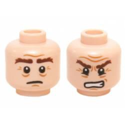 Head Dual Sided LotR Gimli Bushy Brown Eyebrows
