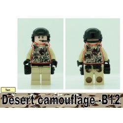 Бронежилет B12 пустынный камуфляж