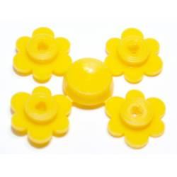 Желтые цветки для стеблей