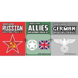 Три набора Второй Мировой Войны в одном