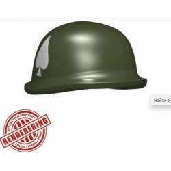 Американский M1 шлем с принтом 506th