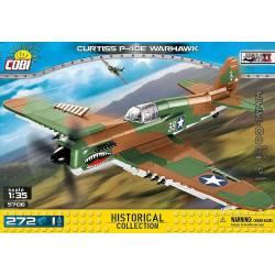 5706 Американский истребитель Куртисс п-40е