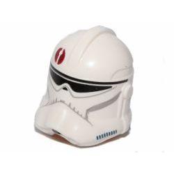 Шлем солдата Клона с темно-красной эмблемой