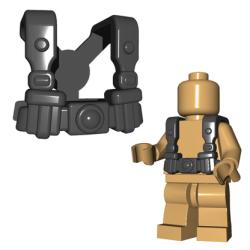 German Infantry Suspenders Black