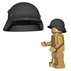 Brickwarriors Stahlhelm Black