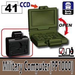 Военный ноутбут ПФ1000 зеленый