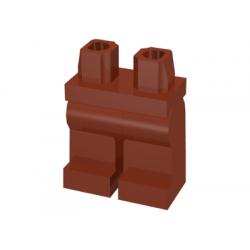 Ноги для минифигурки красно-коричневые