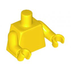 Торс желтого цвета, желтые кисти