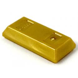 Золотой слиток ЛЕГО