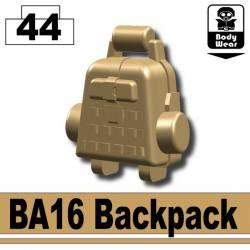 Backpack BA16 dark tan