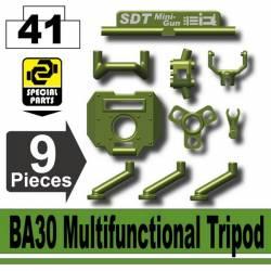 Миниган BA35 и трипоид BA30, зеленый