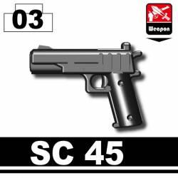 Пистолет SC45 черный