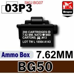 Ammo Box(BG50)03P3-7.62mm Black