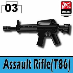 Assault Rifle Black (T86)
