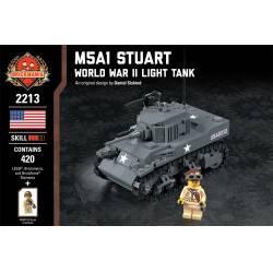 Американский танк Стюарт M5A1
