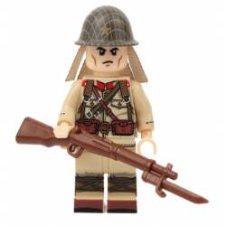WWII Japanese soldier with Arisaka (Brickpanda)