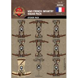 WWII French Infantry - Squad Pack - Stickers