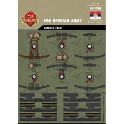 WWI Serbian Army - Sticker Pack