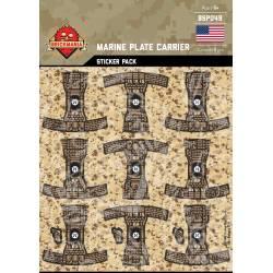 Marine Plate Carrier - Sticker Pack