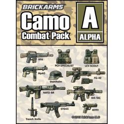 Набор камуфляжного оружия Альфа