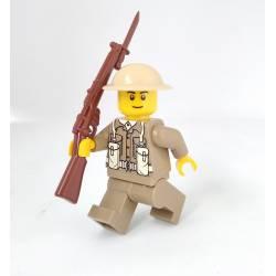 Минифигурка британского солдата с винтовкой SMLE