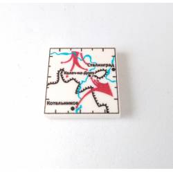 Battle under Stalingrad map