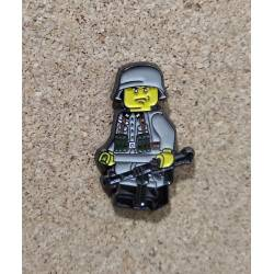Collector Metal Pin of Lego WWII German Soldier