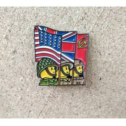 Collector Metal Pin of Lego WWII Allies