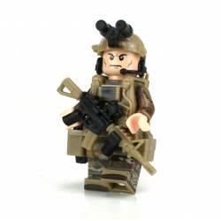 Army Ranger OCP SF Soldier Minifigure
