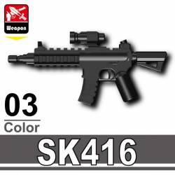 Винтовка SK416 черная
