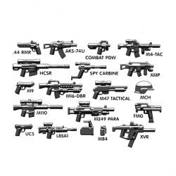 Набор тактического оружия и аксессуаров