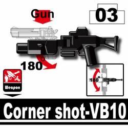 Дробовик для угловой атаки VB10, черного цвета